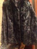 Норковая шуба из кусочков. Фото 2.