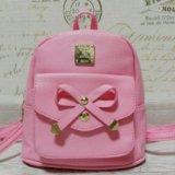 Розовый рюкзачок. Фото 1.
