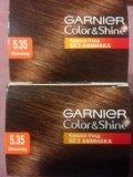 Краска для волос garnier color&shine 5.35 (2 шт.). Фото 4.