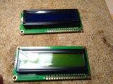 Модуль дисплея - экран 1602 для ардуино hd44780. Фото 1.