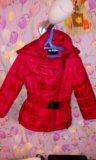 Куртка демисезонная на девочку. Фото 1.