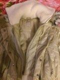 Куртка зимняя с меховым воротником. Фото 4.