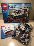 Lego city 60043 транспортировка заключённого. Фото 1.