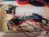 Макетная плату 830 пинов + модуль питания +провода. Фото 1.