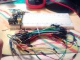 Макетная плату 830 пинов + модуль питания +провода. Фото 2.
