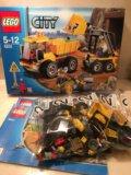 Конструктор lego 4201 погрузчик и самосвал. Фото 2.