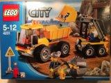 Конструктор lego 4201 погрузчик и самосвал. Фото 3.