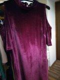 Велюровое платье. Фото 3.