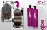 Кератин для выпрямления волос  fox gloss. Фото 2.