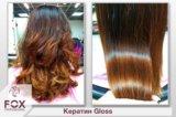 Кератин для выпрямления волос  fox gloss. Фото 3.