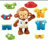 Развивающая игрушка одень обезьянку!. Фото 1.