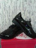 Ботинки лаковые черные 37. Фото 3.
