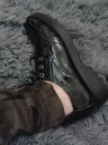 Ботинки лаковые черные 37. Фото 2.