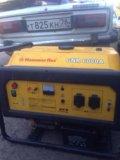 Бензиновый генератор hammerflex gnr 6000a. Фото 2.