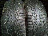 Зимние шины пирели на штампованых дисках. Фото 1.