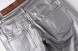 Джинсы брюки металлик. Фото 2.