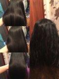 Кератиновое выпрямление волос от 3000. Фото 1.