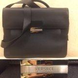 Мужской портфель versace. Фото 1.