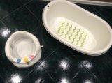 Ванночка и стульчик для купания. Фото 2.
