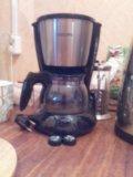 Кофеварка philips hd 7434/20. Фото 1.