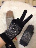 Перчатки-двойка. Фото 1.