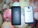 Продам 2 телефон асус и леново. срочно!!!. Фото 1.