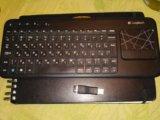 Беспроводная клавиатура logitech. Фото 1.