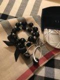 Серьги и браслеты из агата. Фото 1.