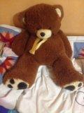 Медведь плюшевый. Фото 1.