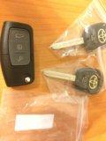 Ключи для авто под заточку. Фото 1.