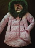 Пальто-пуховик зима. Фото 2.