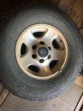 1 колесо новое, висело на запаске от lc80. Фото 3.