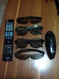 3d очки пульт ду  идеальном состояни. Фото 1.