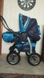 Отличная коляска+переноска+одежда. Фото 1.