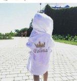 Детский халат с вышивкой. Фото 1.
