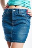 Джинсовая юбка. Фото 1.