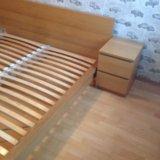 Кровать с тумбами. Фото 2.