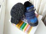 Новые утеплённые сапоги ботинки мембрана р22. Фото 2.