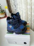 Новые утеплённые сапоги ботинки мембрана р22. Фото 4.