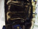 Куртка зимняя, мех лисы. Фото 3.
