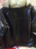 Куртка зимняя, мех лисы. Фото 2.
