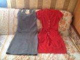Платье красное. Фото 1.