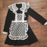 Платье + фартук. Фото 1.