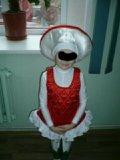 Костюм мухомор на девочку 7лет. Фото 1.