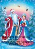 Дед мороз и снегурочка. Фото 1.