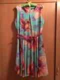 Шифоновое платье. Фото 1.