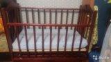 Детская кровать маятник. Фото 4.