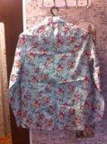 Р.48 новая рубашка. цвет мятный. Фото 2.
