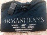 Футболка armani jeans. Фото 1.