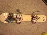 Сноуборд (комплект). Фото 1.
